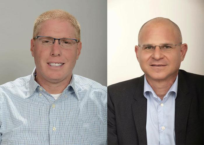 """יו""""ר חברת דניה, אריק שפיר, ורונן גינזבורג, מנכ""""ל דניה. צילום: רמי חכם."""