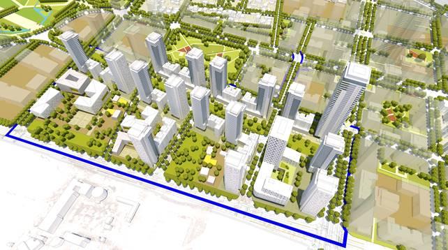 """אושרה תוכנית רמ""""י להקמת שכונה חדשה על שטח שדה התעופה בהרצליה"""