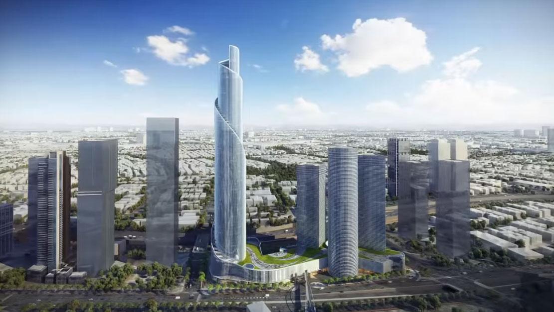 הכירו את מגדל הספירלה של קבוצת עזריאלי, בהשקעה מוערכת של 2.5 מיליארד שקל